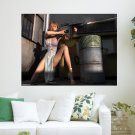 Shoot Em Up  Art Poster Print  24x18 inch