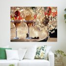 Christmas Celebration  Art Poster Print  24x18 inch