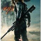 Captain America 2Movie Art Poster The Winter Solder 32x24