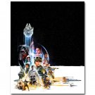 Star Wars 7 The Force Awakens Movie Art Poster Kylo Ren 32x24