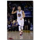 Stephen Curry Golden State Warriors Basketball Poster 32x24