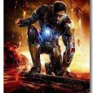 Superhero Iron Man Movie Art Poster Tony Stark 32x24