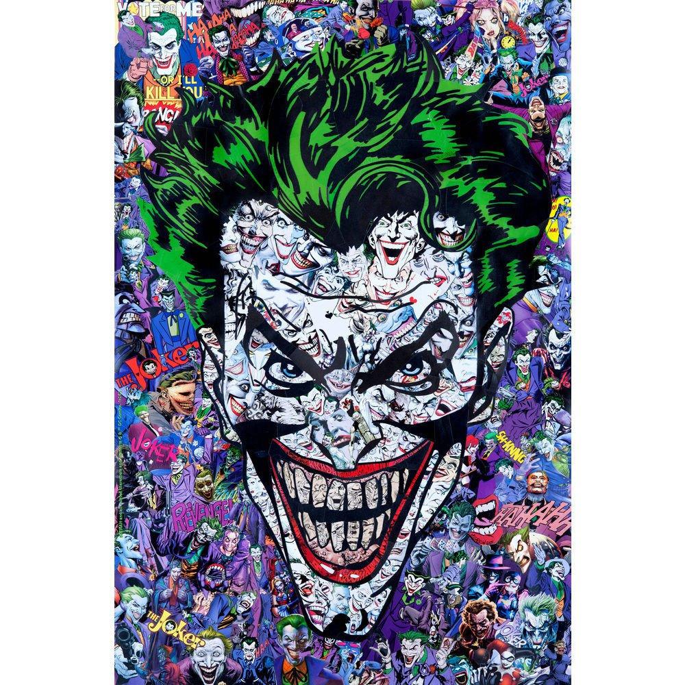 Joker Batman DC Superheroes Comic Poster 32x24