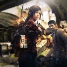 The Last Of Us Game Art Wall Poster Print Joel And Ellie 32x24
