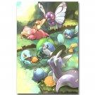 Pokemon Pocket Monster Anime Poster Pictures 32x24