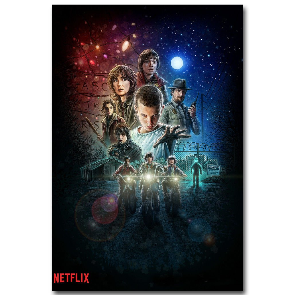 Stranger Things TV Series Poster 32x24