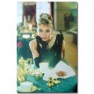 Audrey Hepburn Cigarette Movie Art Poster Breakfast At Tiffany S 32x24