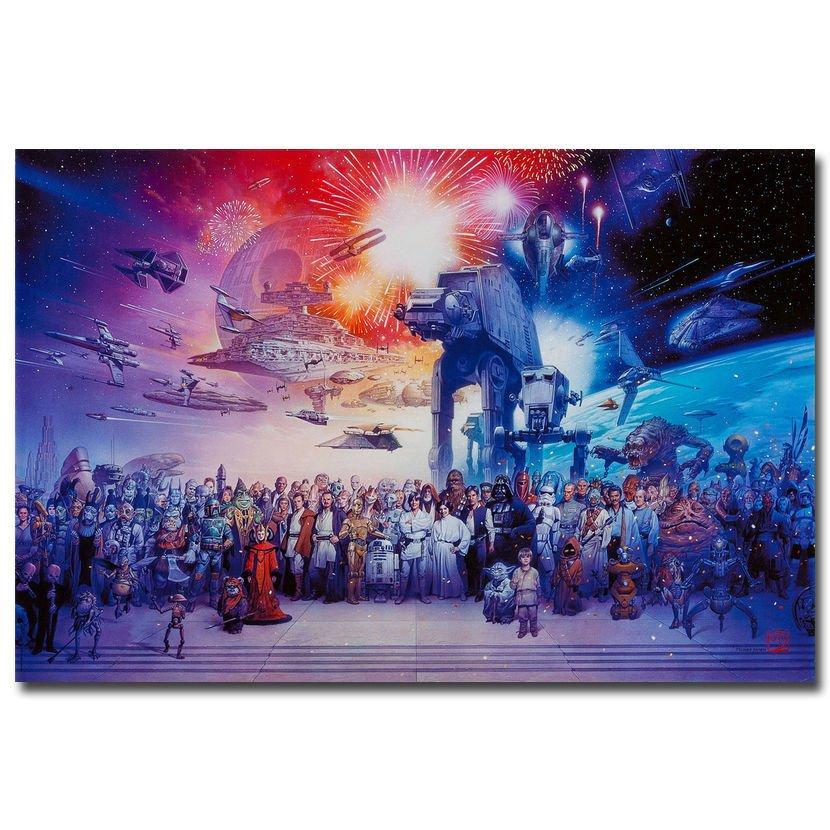 Star Wars Darth Vader Movie Art Poster 32x24