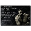 Do Not Quit Muhammad Ali Motivational Quotes Poster Print 32x24