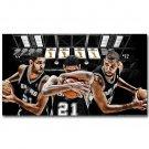 Tim Duncan San Antonio Spurs Basketball Star Poster 32x24