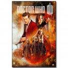 Doctor Who Season 10 TV Show Art Fabric Poster 32x24