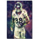 Demaryius Thomas America NFL Football Sports Art Poster 32x24
