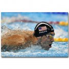 Michael Phelps USA Swimming Sports Poster 32x24