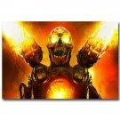 The Ultimate DOOM 4 Monster Game Art Poster Print 32x24