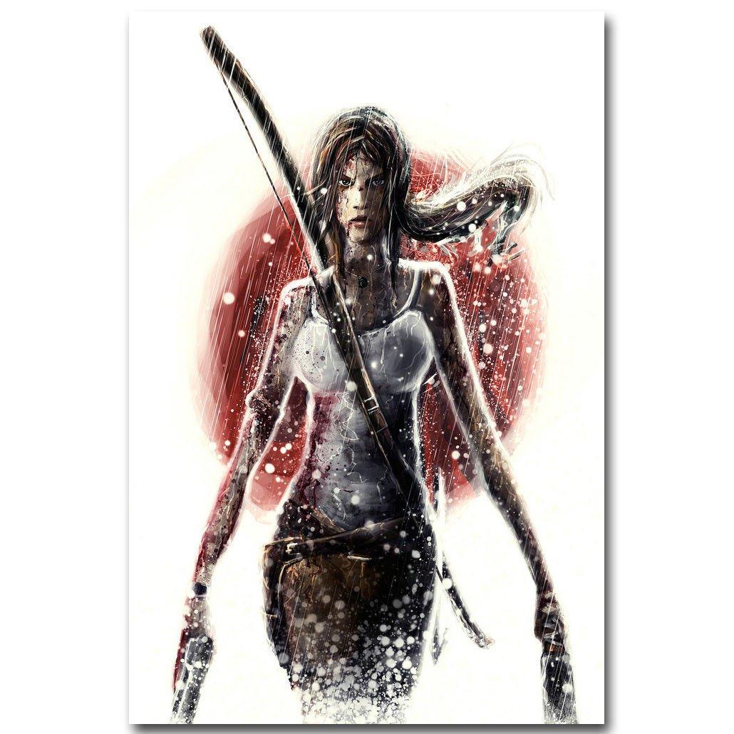 Rise Of The Tomb Raider Lara Croft Hot Game Poster 32x24
