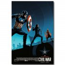 Captain America 3 Civil War Superhero New Movie Poster 32x24
