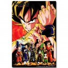 Dragon Ball Z All Characters Goku Anime Poster 32x24