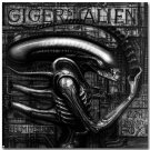 Alien Movie Abstract Poster Print 32x24