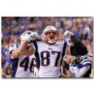 Rob Gronkowski NFL Football Sports Poster 32x24