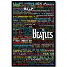The Beatles Super Music Rock Band Poster 32x24