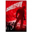 Daredevil Superheroes TV Series Comic Fabric Poster 32x24