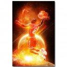 Kevin Garnett Basketball Sports Fabric Poster Print 32x24