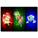 Eevee Pokemon Anime Poster Print Pocket Monster 32x24