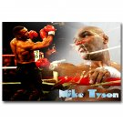 Boxing Legend Mike Tyson Sport Fabric Poster Print 32x24