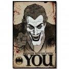 Joker Wants You Batman Superheroes Comics Poster 32x24