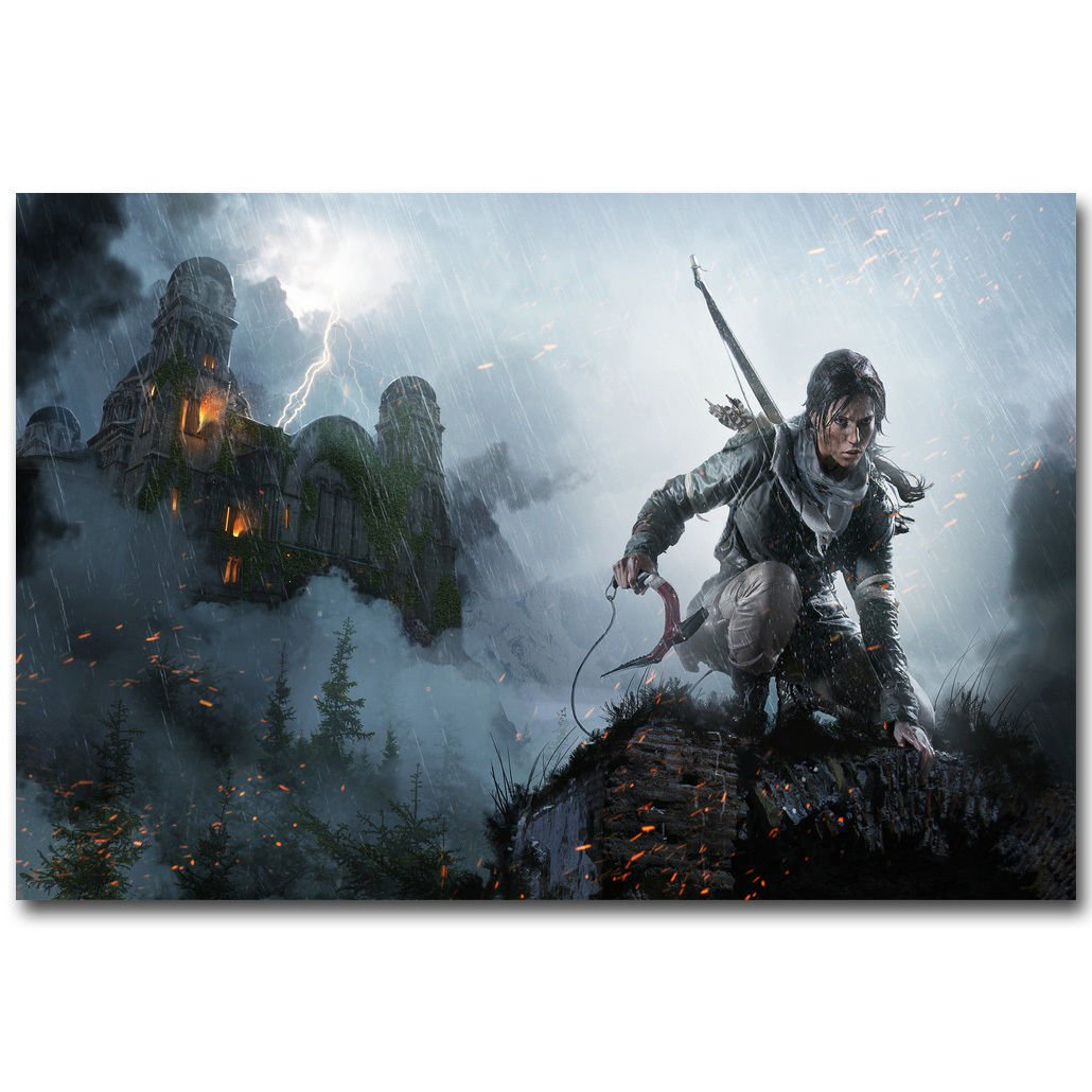 Rise Of The Tomb Raider Lara Croft Hot Game Poster 32x24