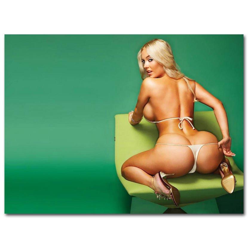 Nicole Coco Austin Sexy Hot Model Girl Art Poster 32x24