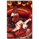 Date A Live Sexy Anime Girl Poster Tokisaki Kurumi 32x24