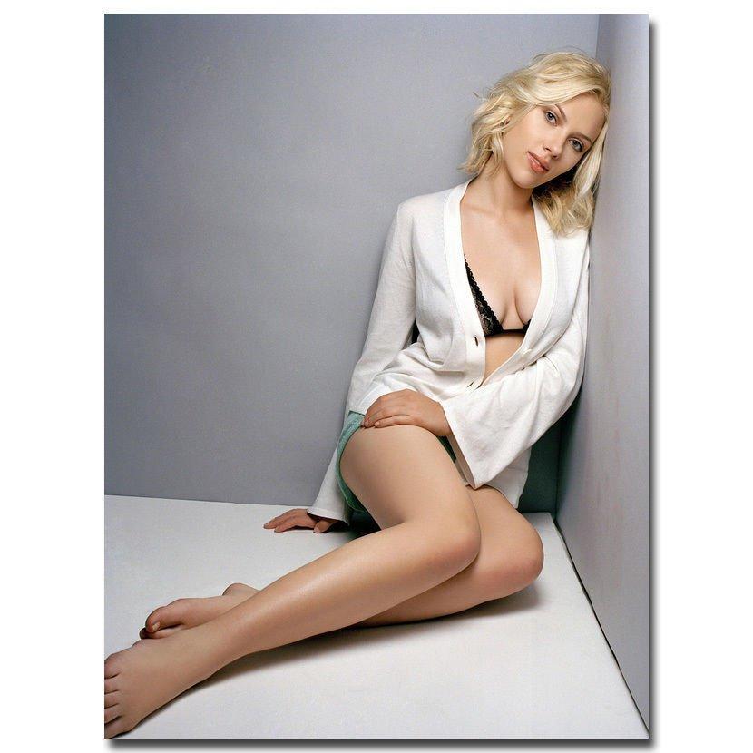 Scarlett Johansson Sexy Movie Star Poster Black Widow 32x24