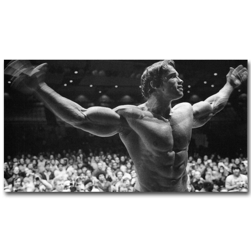Arnold Schwarzenegger Bodybuilder Mr Olympic Poster 32x24