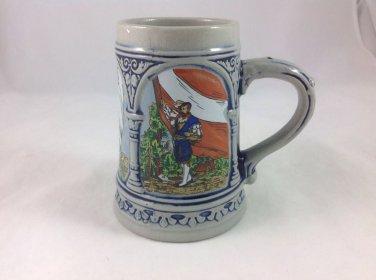 Gerz Beer Stein Original Portrait Piece Germany