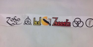 Vintage Led Zeppelin Head Band New Old Stock Never Worn In Plastic 70s Rock Roll