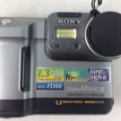 Sony Mavica MVC-FD88 1.3 MP Digital Camera - Metallic gray