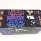 Star Wars Trilogy (VHS, 1990, 3-Tape Set)