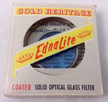 Edna Lite Solid Optical Glass Filter Coated Blue Series 4.5 80B Gold Heritage