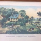 "Currier and Ives ""American Homestead Summer"""