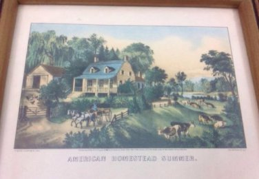 Currier and Ives �American Homestead Summer�