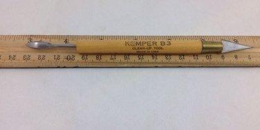 Vintage Kemper Tools B3 Pottery Clay Sculpting Wax Scraper Clean-up Tool