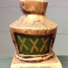 Bar Decor Booze Money Bank 1969 a Paula Collectible, XXX CERAMIC BANK, ALCOHOL