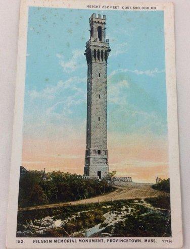 Provincetown MA Pilgrim Memorial Monument Provincetown MA CAPE COD  c1920s