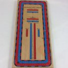 Vintage Continuous Track Cribbage Board