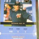2000 Just Debuts Danys Baez Promo Card