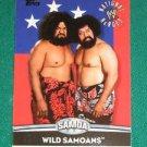 WILD SAMOANS 2010 Topps WWE National Heroes #NH16