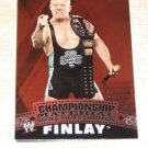 FINLAY - 2010 Topps WWE Championship Material #C45