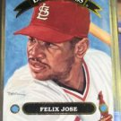 1992 Donruss Diamond Kings Felix Jose