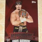 CHAVO GUERRERO - 2010 Topps WWE Championship Material PUZZLE